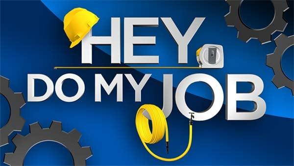 Hey Do My Job logo