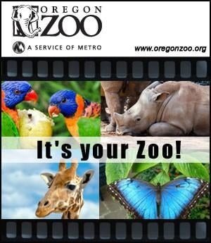 Oregon Zoo - Sponsorship Header