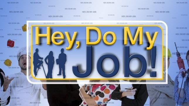 Hey Do My Job logo