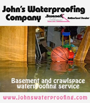 John's Water Proofing Website