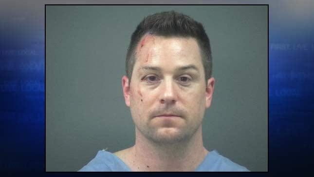 Shane Huddleston, jail booking photo