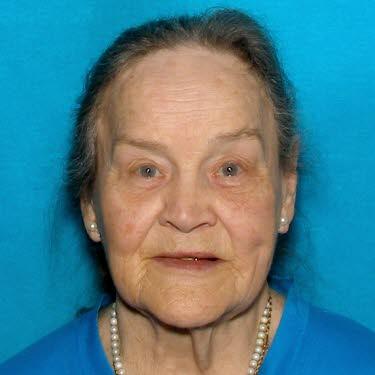 Missing woman Patty Hall. DMV photo provided by Portland Police Bureau.