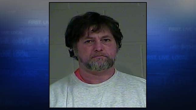Randall Lee Pritchard, jail booking photo