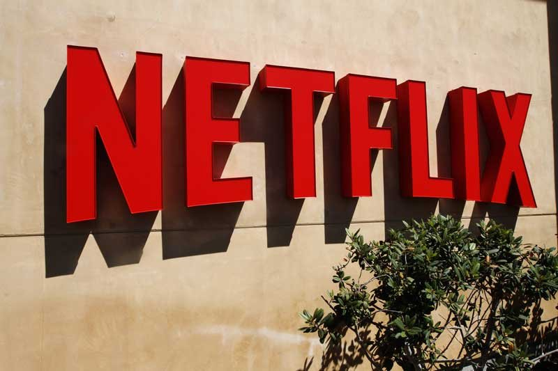 A beauty shot of the Netflix corporate headquarters campus in Los Gatos, California. (From Netflix via CNN)
