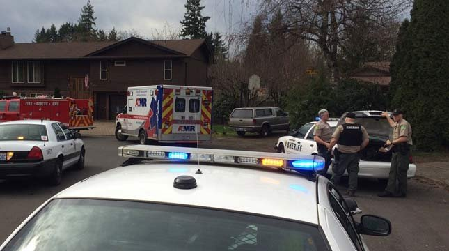 Deputies said a man was arrested in the backyard of a home after following a girl into Columbia River High School. (Photo: Clark County Sheriff's Office)