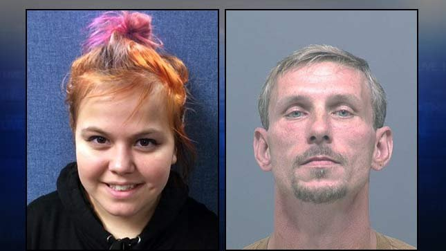Danielle Hone and William Joseph Anderson (Photos provided by Clark County Sheriff's Office)