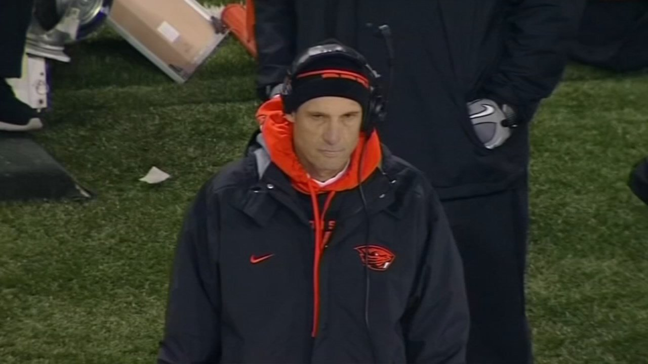 Former OSU Beavers football coach Mike Riley (FOX 12 file image)