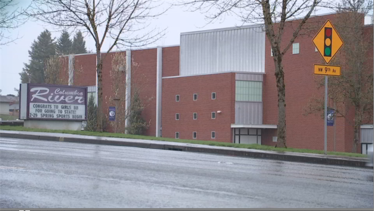 Columbia River High School in Vancouver.