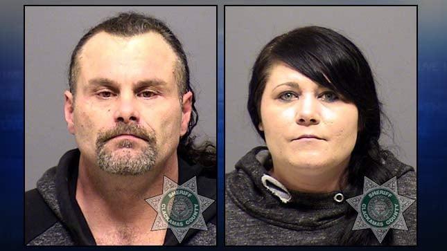 Douglas Corbus, Kaylena Jo Millard (jail booking photos)