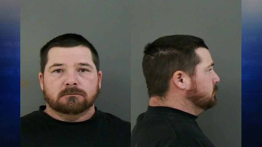Shawn Hooper booking photo. (Courtesy: Linn County Sheriff's Office)