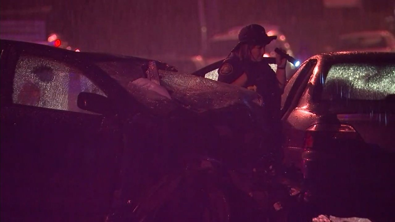 Two people suffered serious injuries in the crash at NE 139th and Glisan Street.