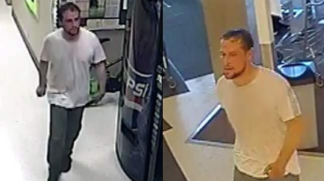 Surveillance images of wanted Salem home invasion suspect. (Images released by Salem PD)