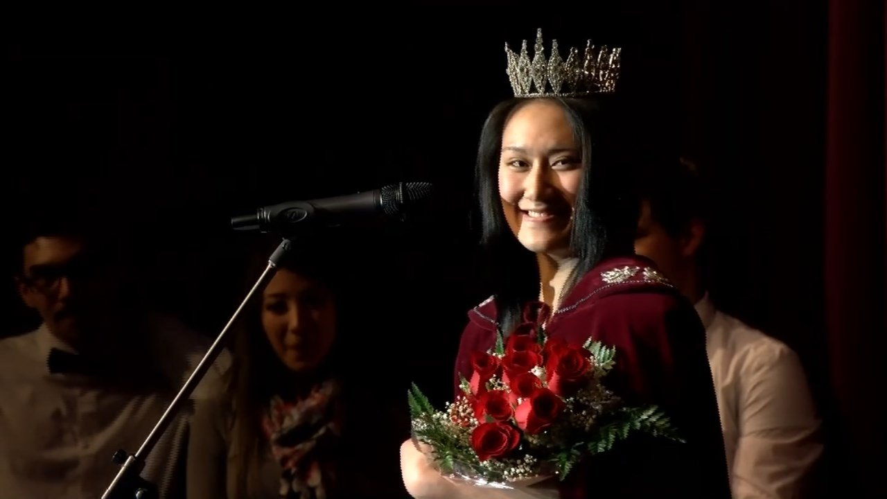 Rose Festival Princess Melissa Ibrahim (KPTV)