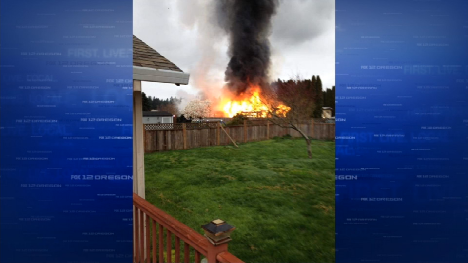 Photo sent in by FOX 12 viewer