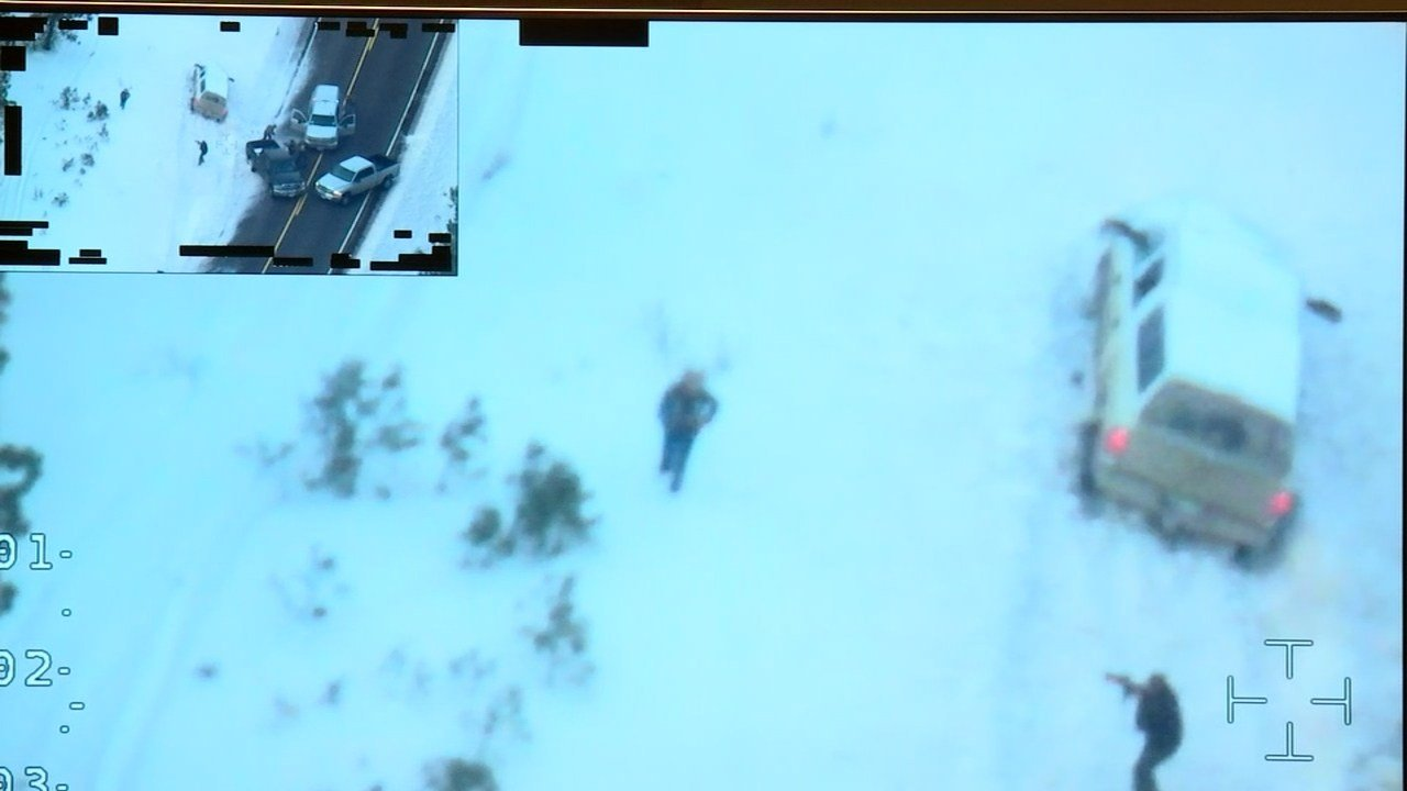 Investigators said Finicum refused to follow orders to get on the ground and repeatedly reached toward his pocket where he had a loaded handgun before he was shot by OSP troopers.