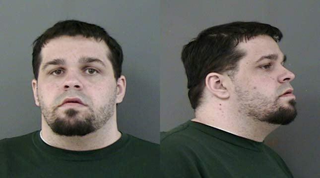 Devin Hansen, jail booking photo