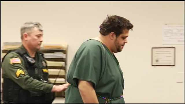Devin Hansen during 2014 court appearance (FOX 12 file image)