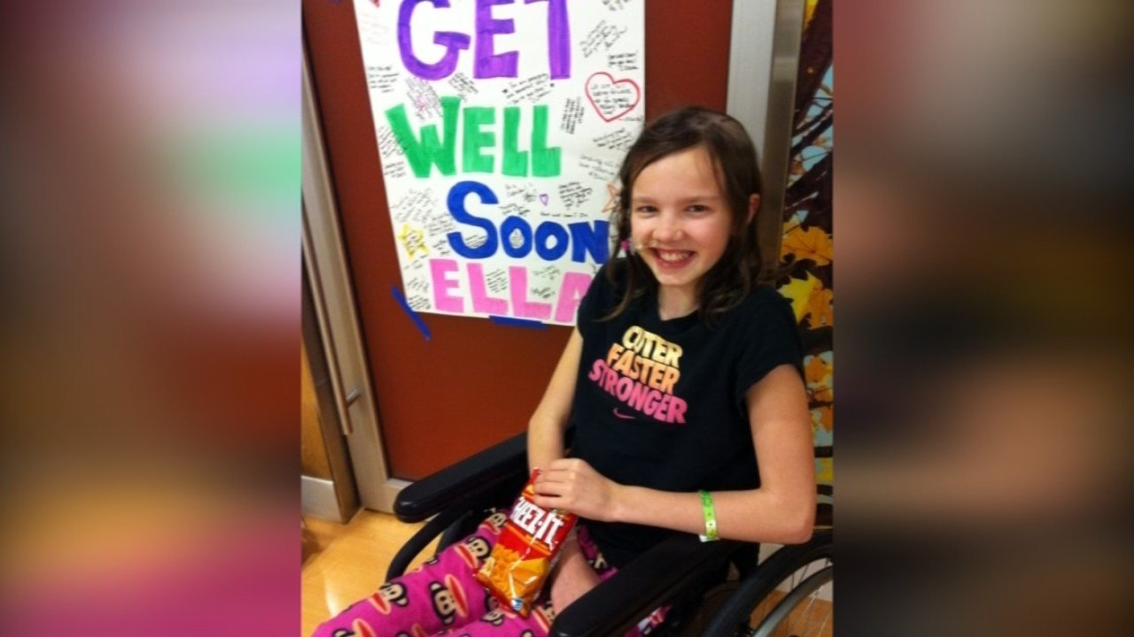 Through intensive therapy, Ella said she learned how to walk, talk and be herself again after she had a stroke.