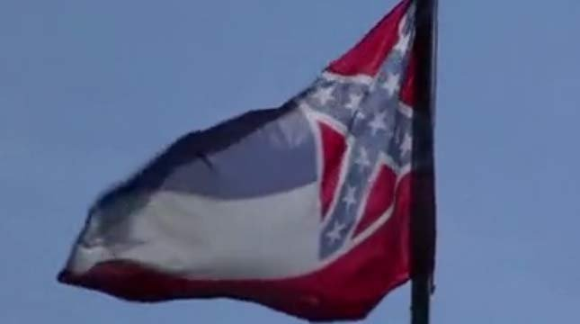 Mississippi state flag, FOX 12 file image