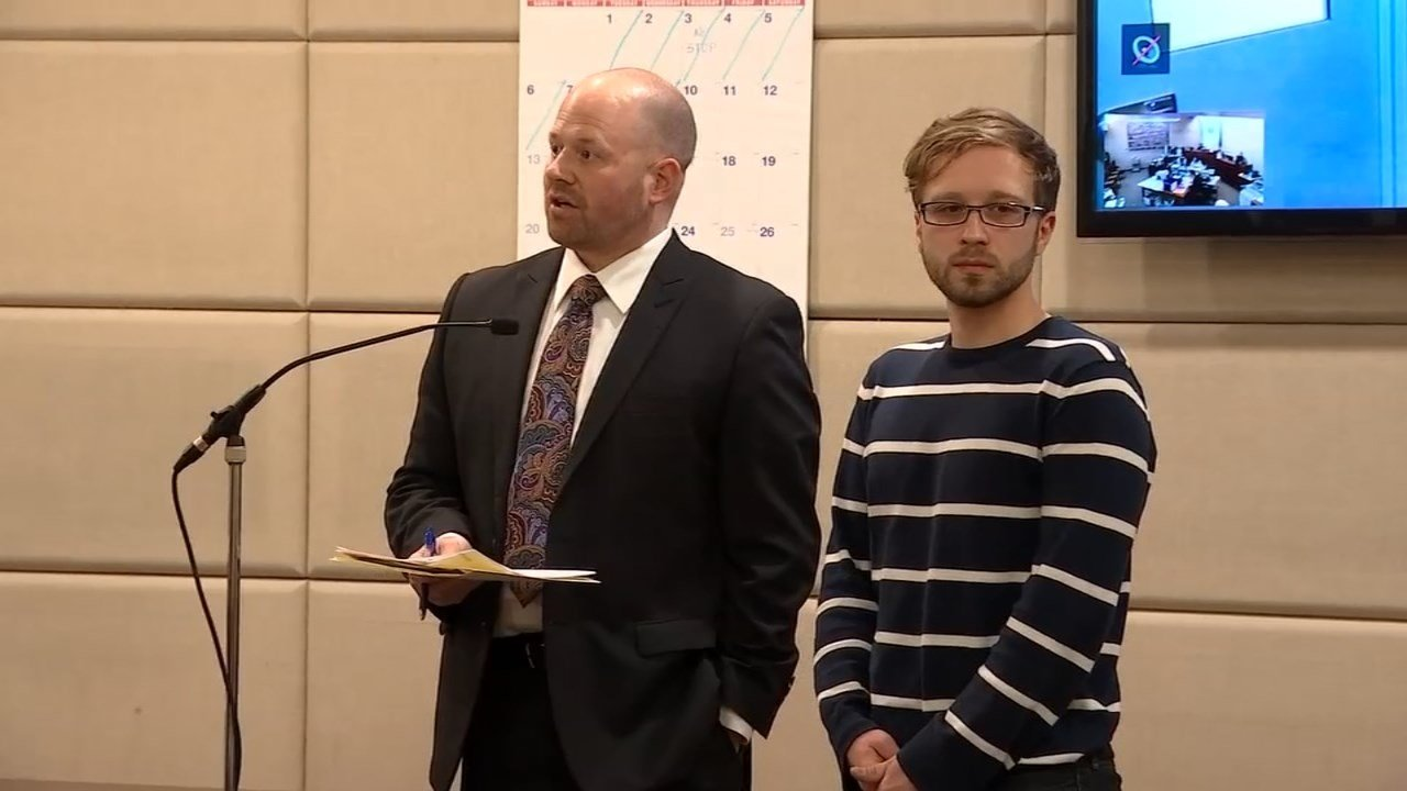 Portland massage therapist Benjamin Thomas Collura in court Thursday to face sex abuse charges.