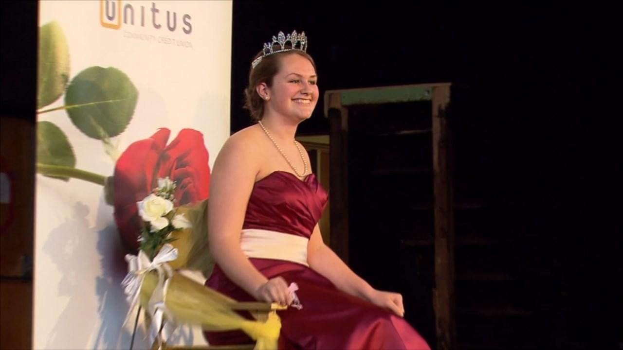 Cleveland High School's 2016 Rose Festival Princess Kaytlin Gaines. (KPTV)