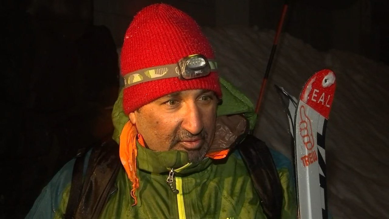 Asit Rathod said he has skied the summit of Mt. Hood 200 times, but his getting stranded Friday is a good example of why people should not climb in weather. (KPTV)