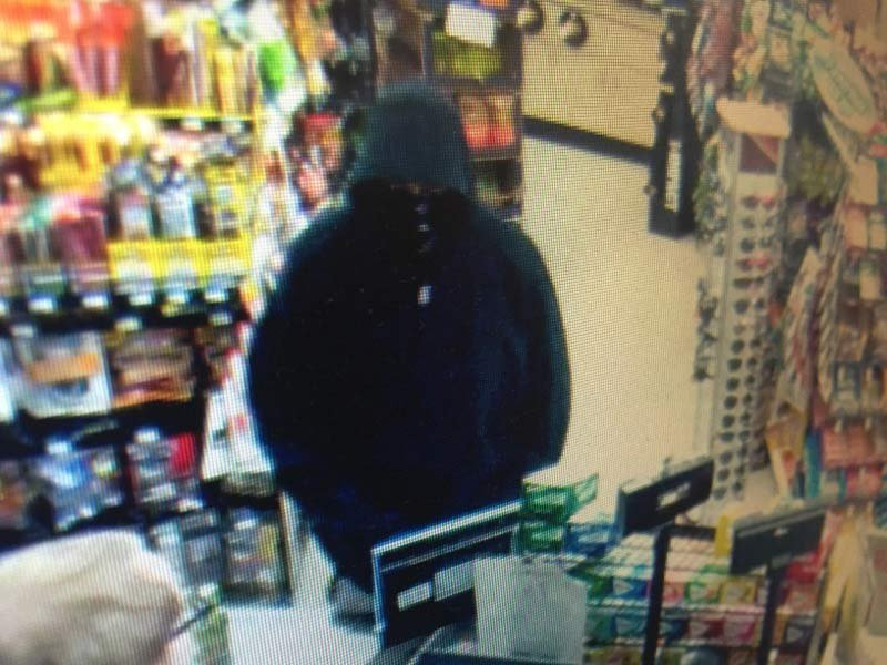 Surveillance image of McMinnville Plaid Pantry armed robbery suspect. (Photo: McMinnville PD)