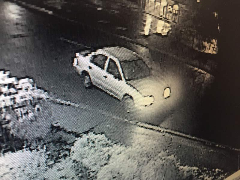 Car involved in McMinnville Plaid Pantry armed robbery. (Photo: McMinnville PD)