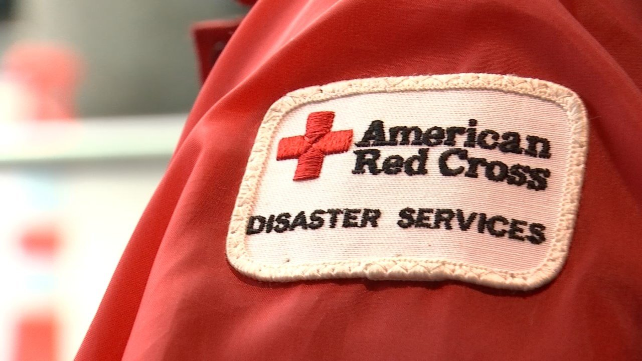 Volunteers with the Red Cross flew out of Portland International Airport Monday on their way to help residents in the south experiencing flooding. (KPTV)