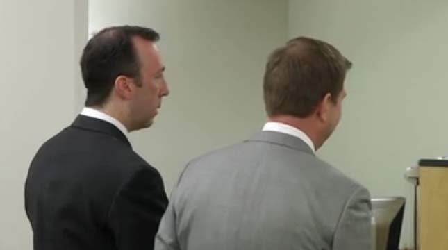 Sean Clark during court appearance in May 2015. (FOX 12 file image)