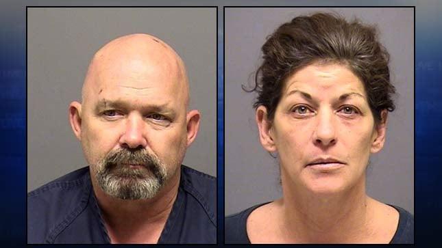Arthur Lane, Shannon Madison, jail booking photos
