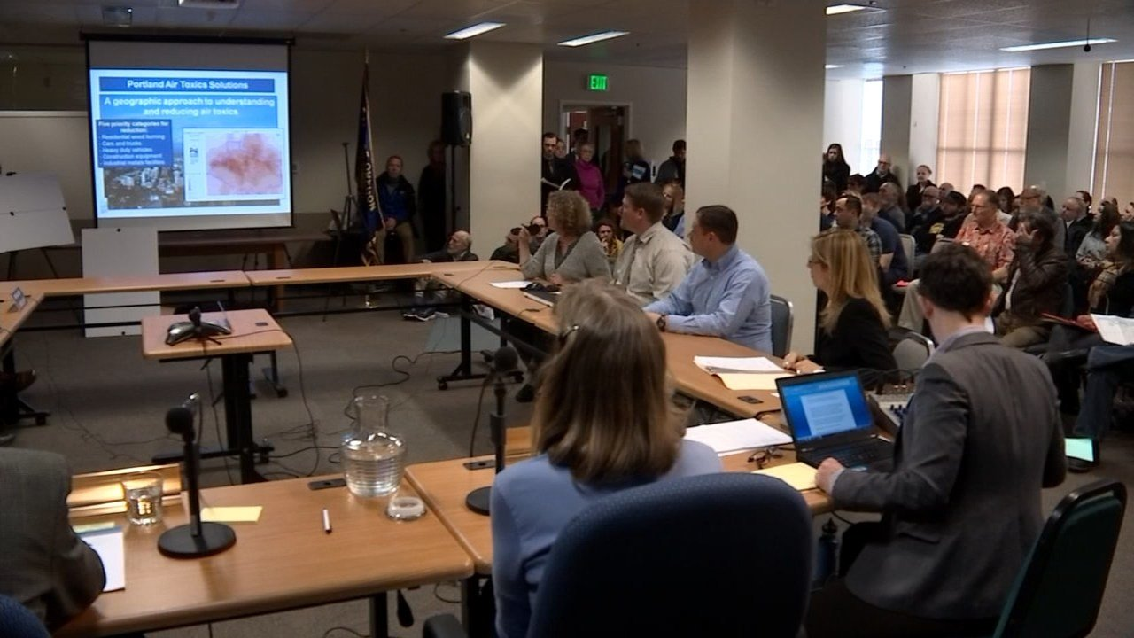 Meeting held at the Oregon Department of Environmental Quality headquarters in downtown Portland. (KPTV)