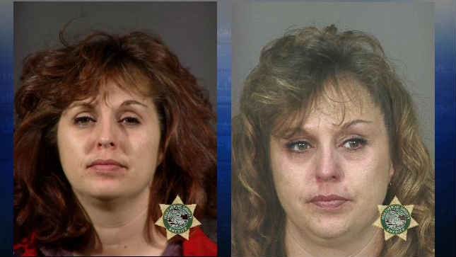 Old mugshots from 2000 and 2004. (Courtesy: Multnomah County Jail)