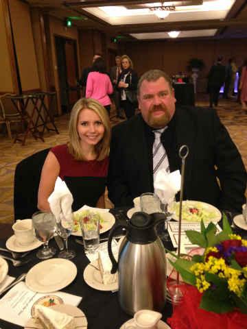 Nora Hart and Steve Roberts (Courtesy: Nora Hart)