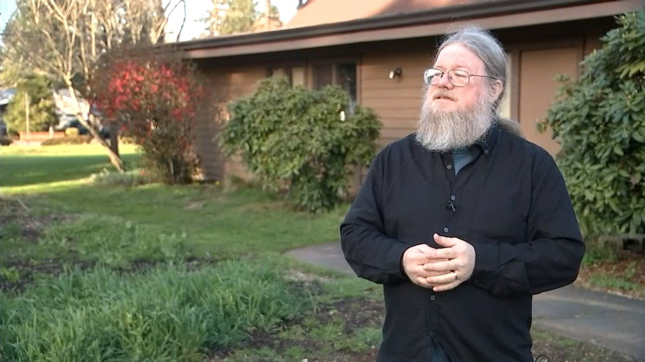 Pastor Steve Kimes, who was one of the seven people arrested for disorderly conduct on Tuesday. (KPTV)