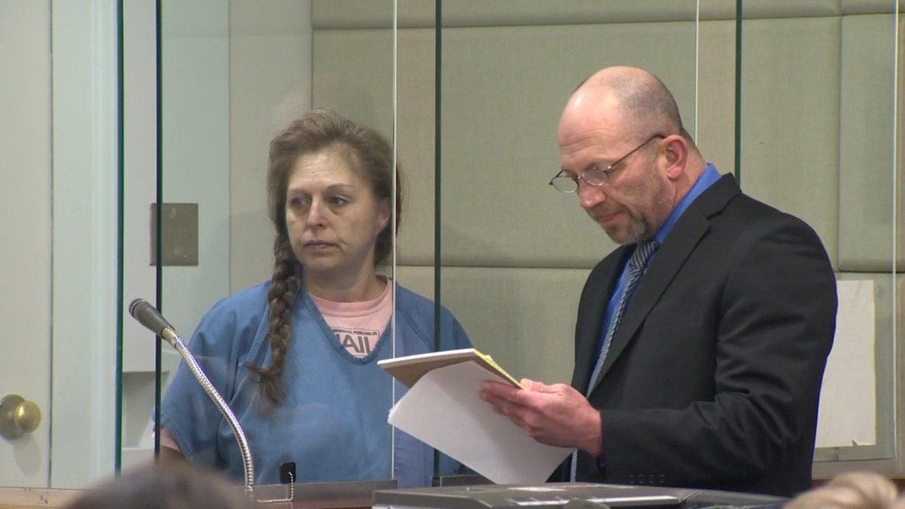 Jennifer Lowery was in court Thursday facing charges of manslaughter, DUII, reckless driving and failure to perform the duties of a driver to injured persons related to the death of her husband. (KPTV)