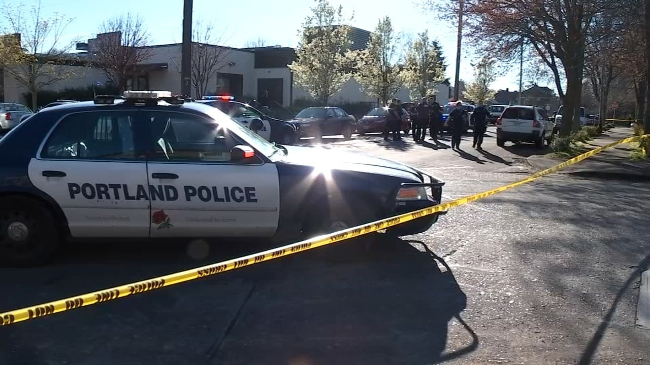 Police responded to a shooting at North Mississippi Avenue and Jessup Street on Thursday.