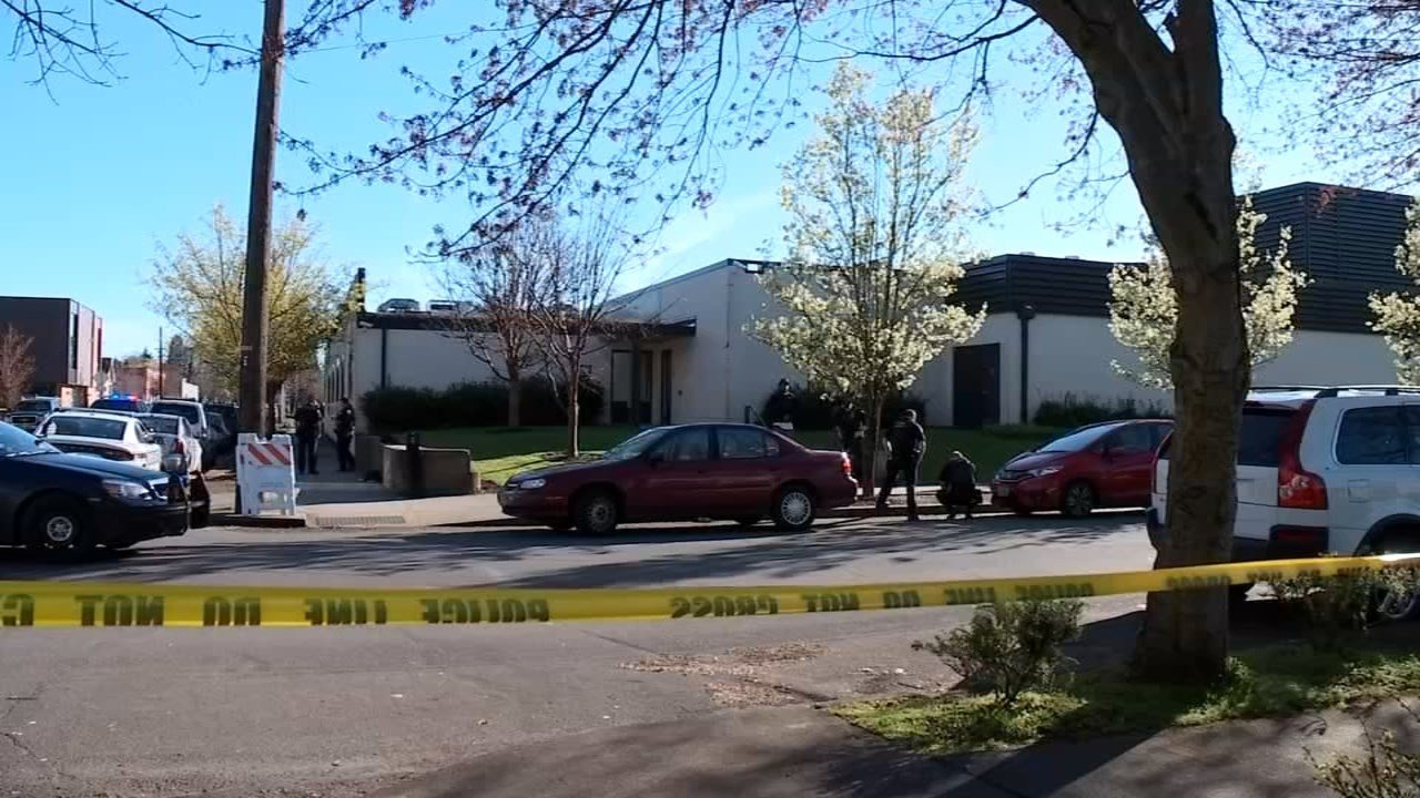 One person was shot and taken to the hospital. A suspect turned himself in to police Friday.