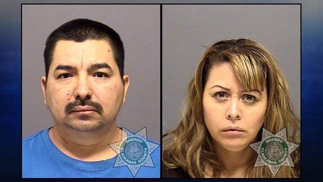 Mario Cuevasradillo, Artemisa Guerreromuro, jail booking photos