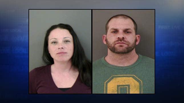 Audrey Edythe Graves, Gary Dennis Lang, jail booking photos
