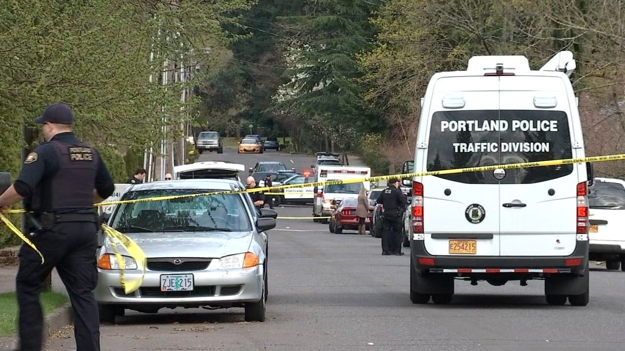 A 17-year-old on a bicycle was killed in a crash with a pickup in SE Portland on Saturday afternoon.