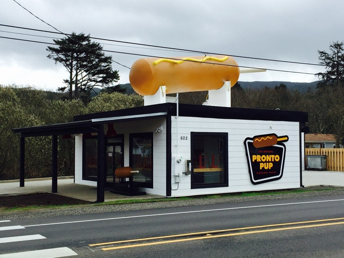 The Original Pronto Pup opened this weekend at Rockaway Beach (Photo Credit: KPTV)