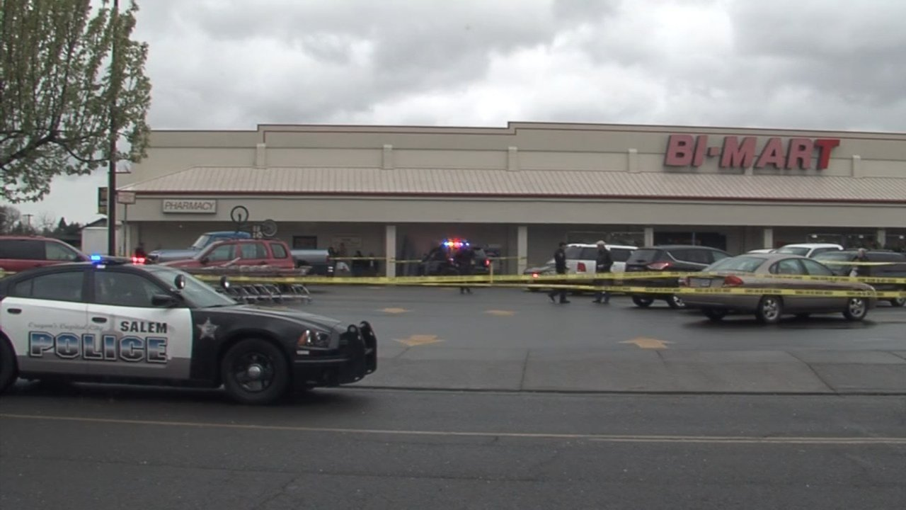 One person was seriously injured in a shooting outside the Bi-Mart store in Keizer on Monday afternoon.
