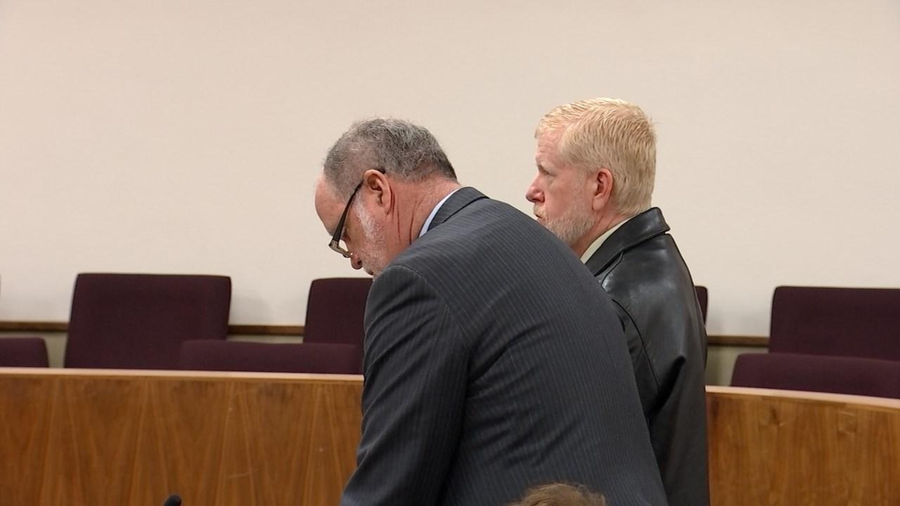 Former Washington County Sheriff's Office deputy David Bergquist in court Tuesday.