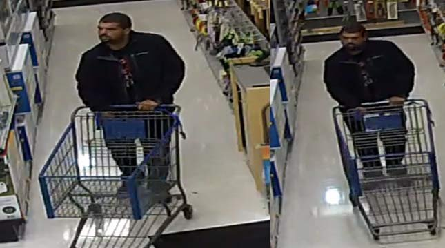 Wanted credit card fraud suspect at Wilco store in Oregon City. (Photo: Oregon City PD)