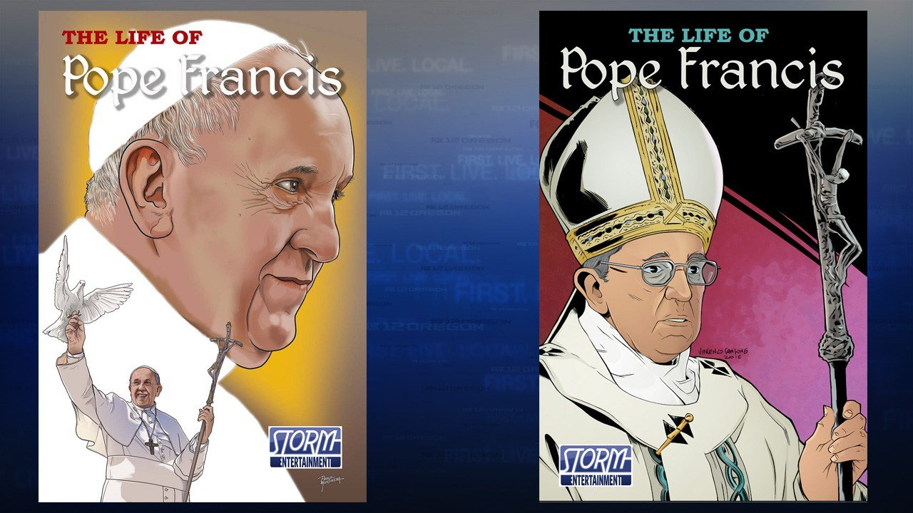 """The Life of Pope Francis"" cover (Storm Entertainment)"