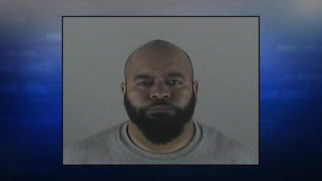 Christopher Rosario, jail booking photo