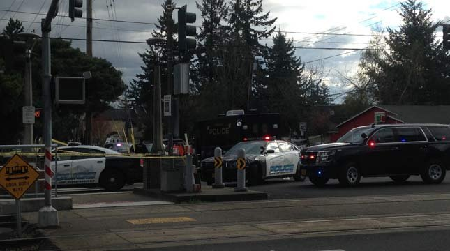 A child was hit and killed near Southeast 162nd and Burnside in Gresham on Monday.