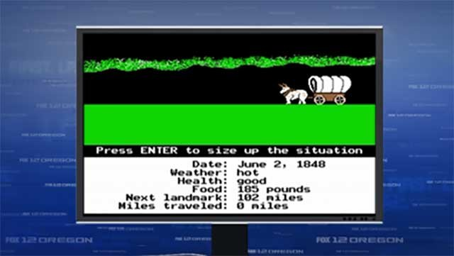 Screenshot from 'The Oregon Trail' (Source: KPTV)