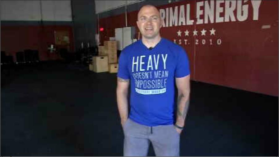 'Everyday Warrior' founder Matt Gill